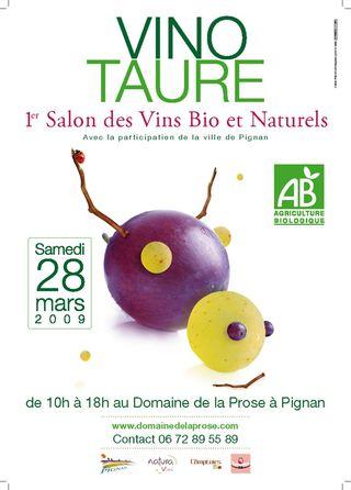 Vinotaure salon des vins bios et naturels